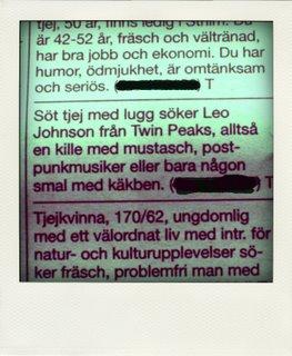 svenska chattrum Ystad